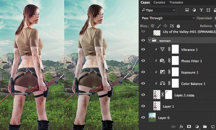 Movie poster Photoshop CC tutorial