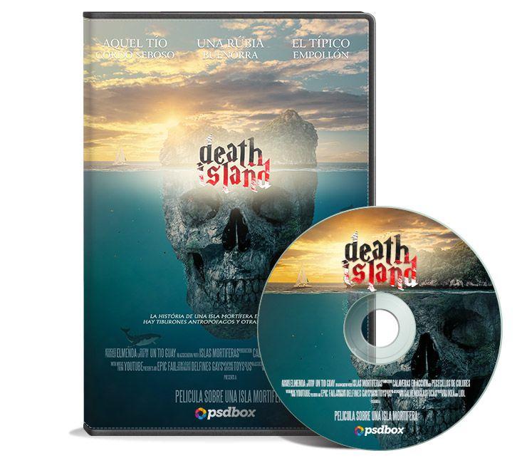 Photoshop movie poster tutorial. DVD case mockup tutorial