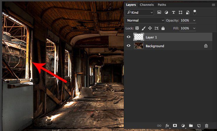 Ambient Light - Selection Photoshop cc tutorial