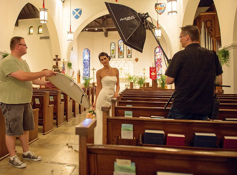 如何拍摄出完美婚纱摄影照