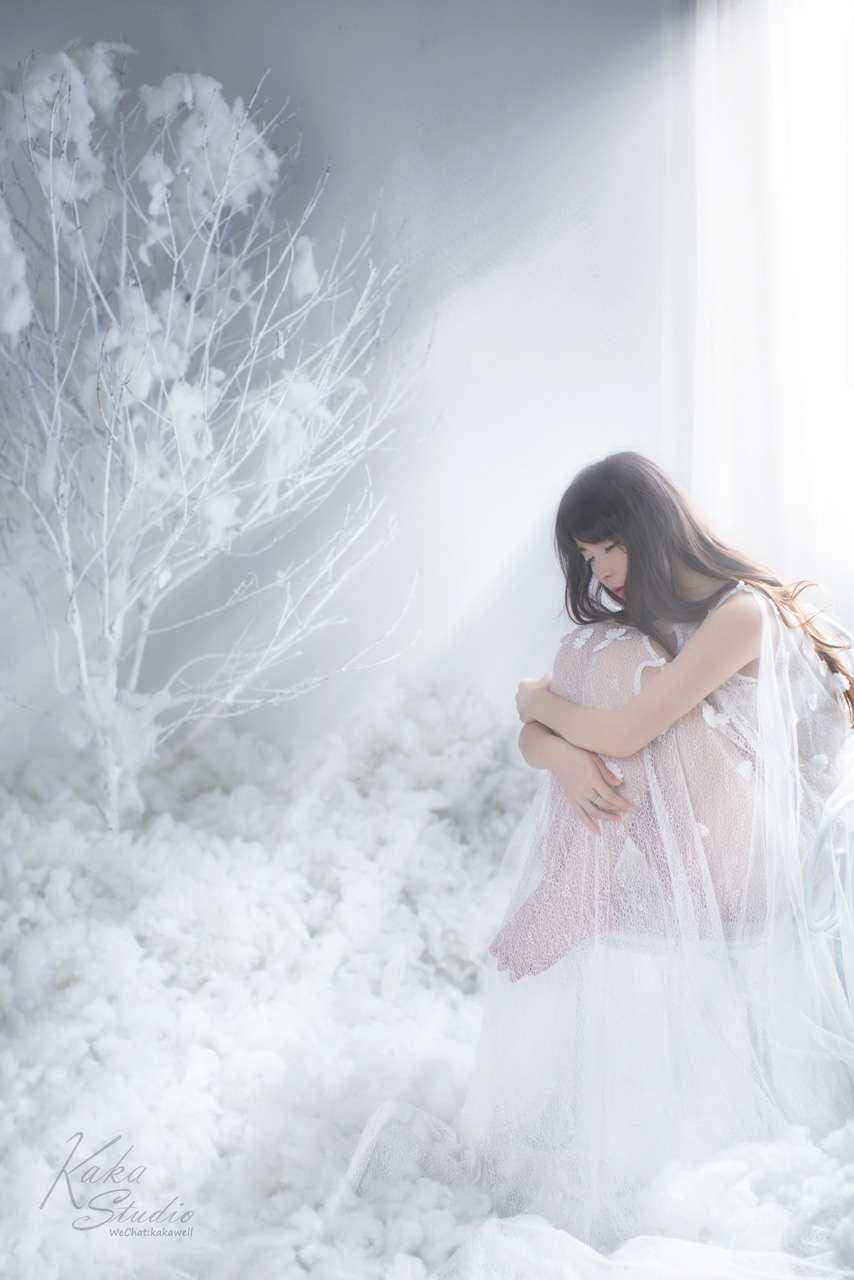 白色世界温柔心