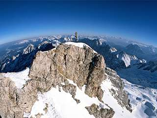 德国第一高峰 楚格峰