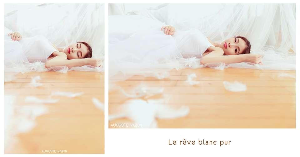 带着纯白色的梦想 舞动青春的旋律唯美人体艺术
