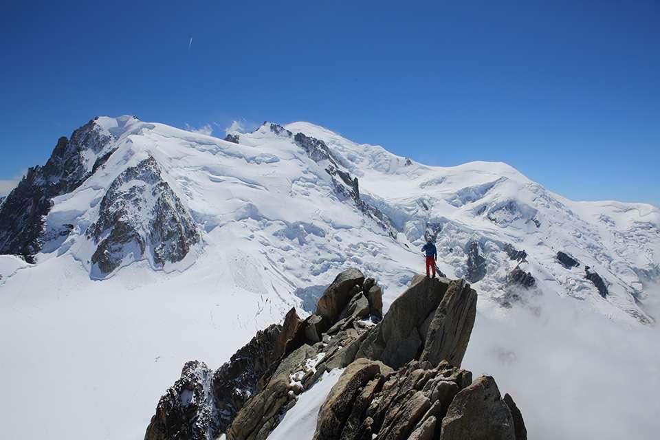 法国勃朗峰