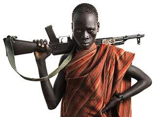 印度摄影师Trupal Pandya记录着非洲部落