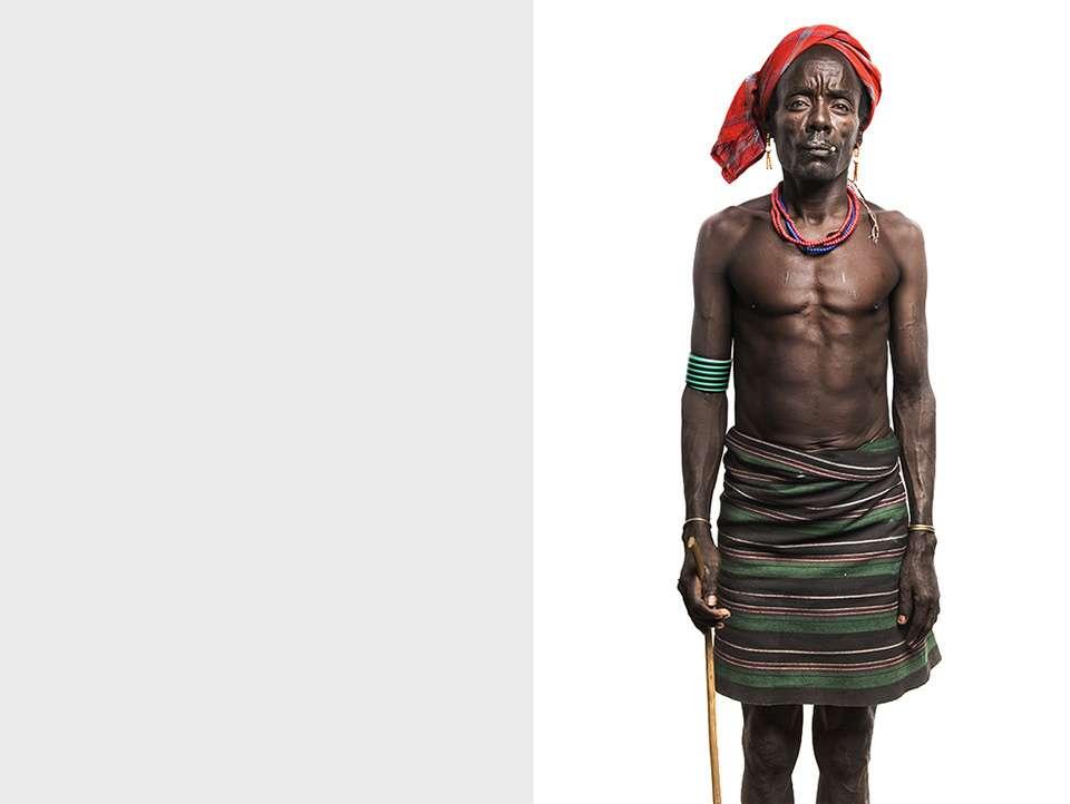 印度摄影师Trupal Pandya记录着非洲部落的肖像作品