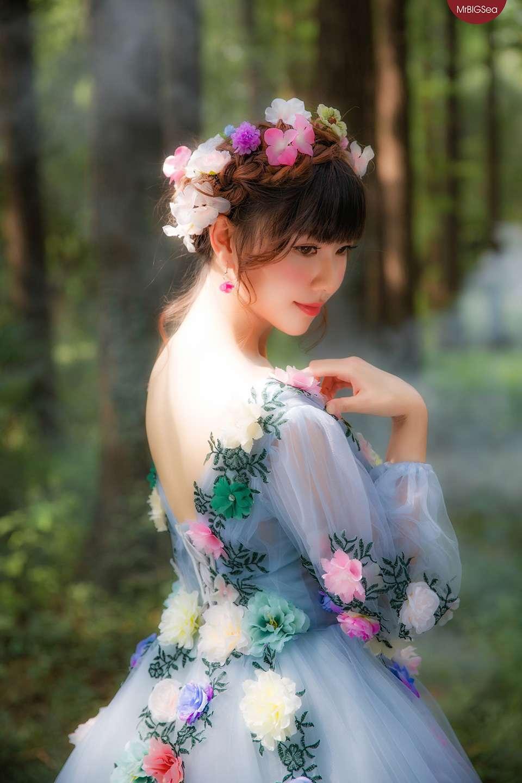 传说森林里的蝴蝶仙女