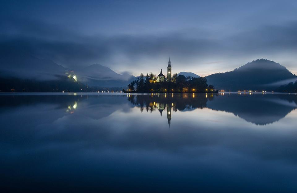 风光摄影:迷雾般的幻境