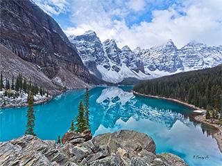 你好色彩 加拿大风景