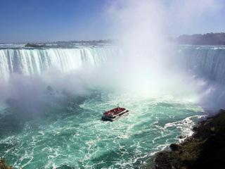 世界三大跨国瀑布之一尼亚加拉跨国