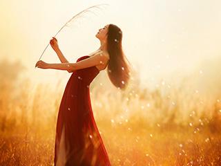 《芦苇花》唯美人像摄影油画般一样美