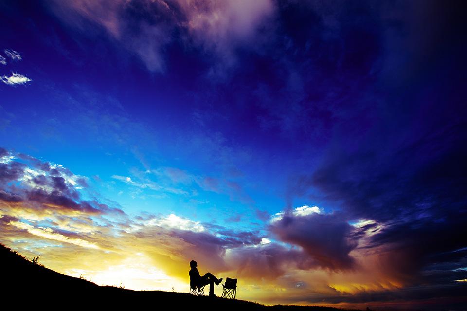 牛背上的星空