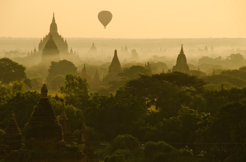 万塔之城的魅影 缅甸蒲甘