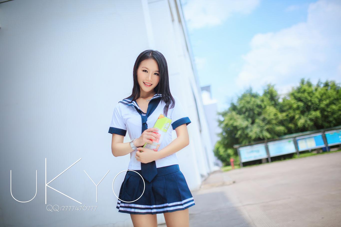 夏日水手服