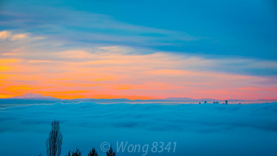 白云深处的温哥华