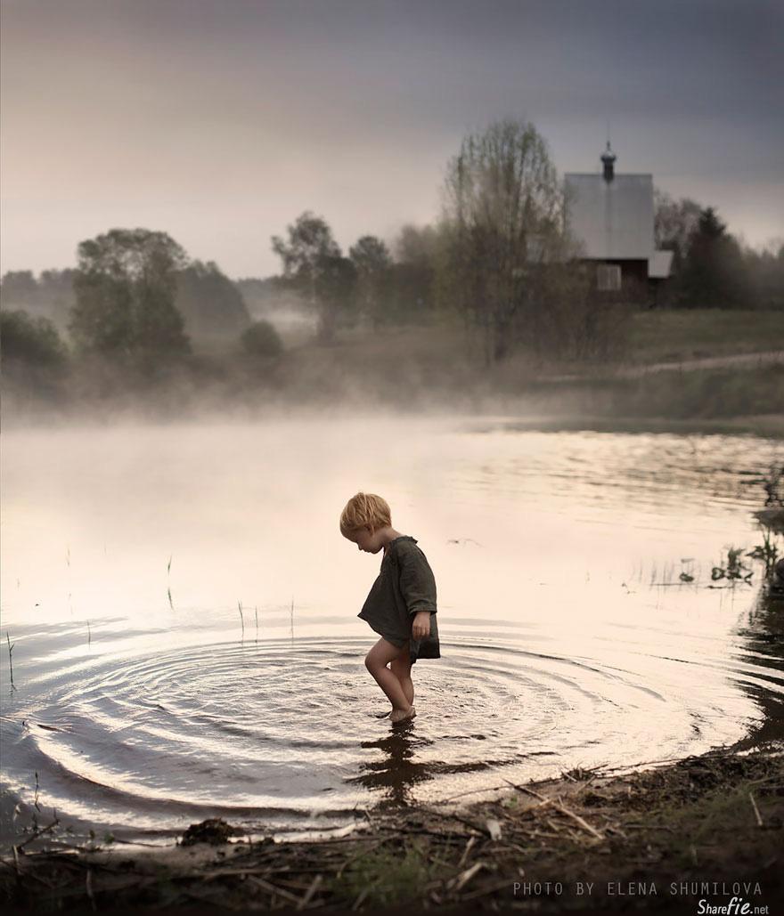 国外唯美儿童摄影 农场孩子童真温情瞬间