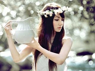 《溪香》唯美美女人像摄影作品