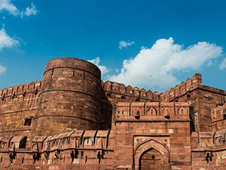 前世今生的回忆 印度阿格拉红堡高清
