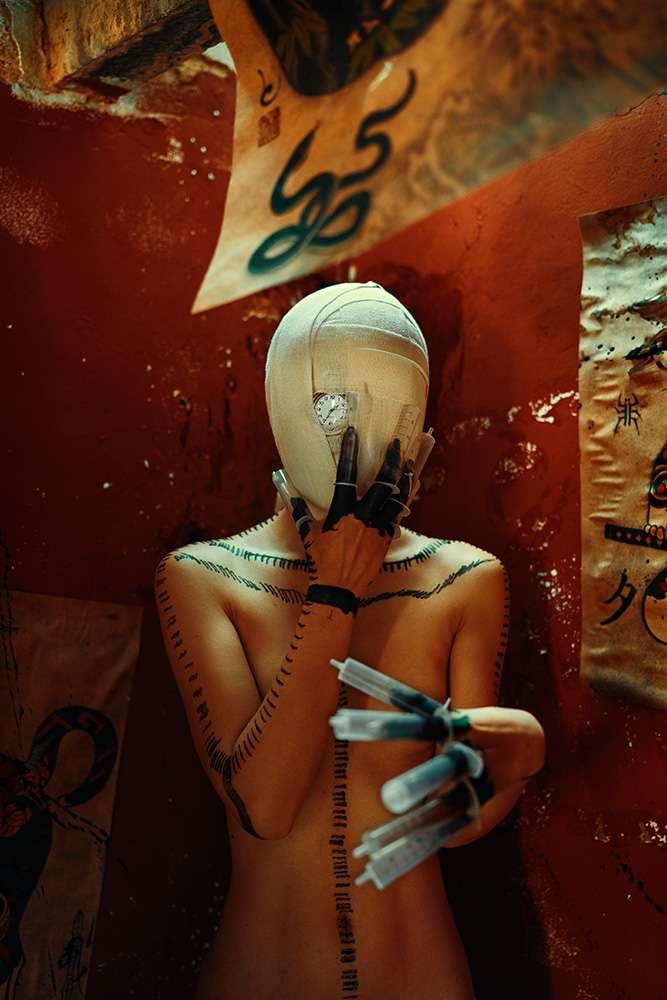 轮回眼大尺度人体艺术