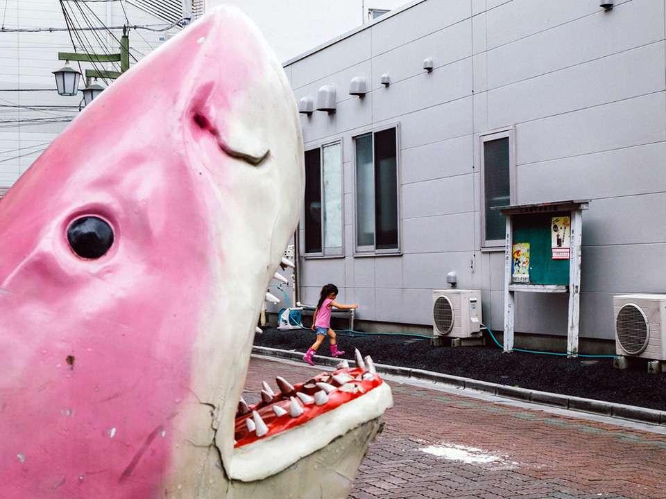 日本街拍遇到的搞怪奇葩瞬间
