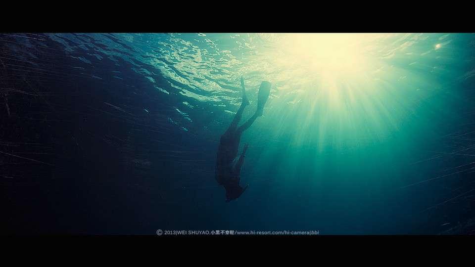 涅槃深海摄影魅力无限