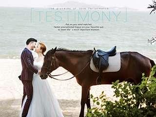 厦门婚纱摄影旅拍骑马