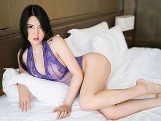 [MiStar魅妍社]Vo.269巨乳模特Sukki紫色梦幻性感写真