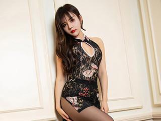 黑丝旗袍卓娅祺美腿高跟人像摄影