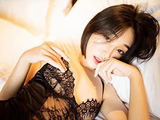 甜美人妻小九月高跟丝袜睡姿撩人[51P]
