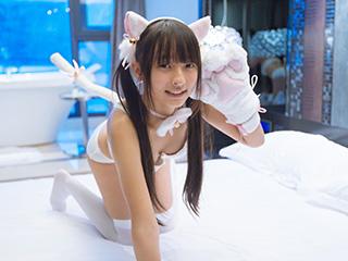 神楽板真冬Reimu猫娘系列2写真套图[40P]