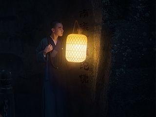 夜访山寺古装人像摄影