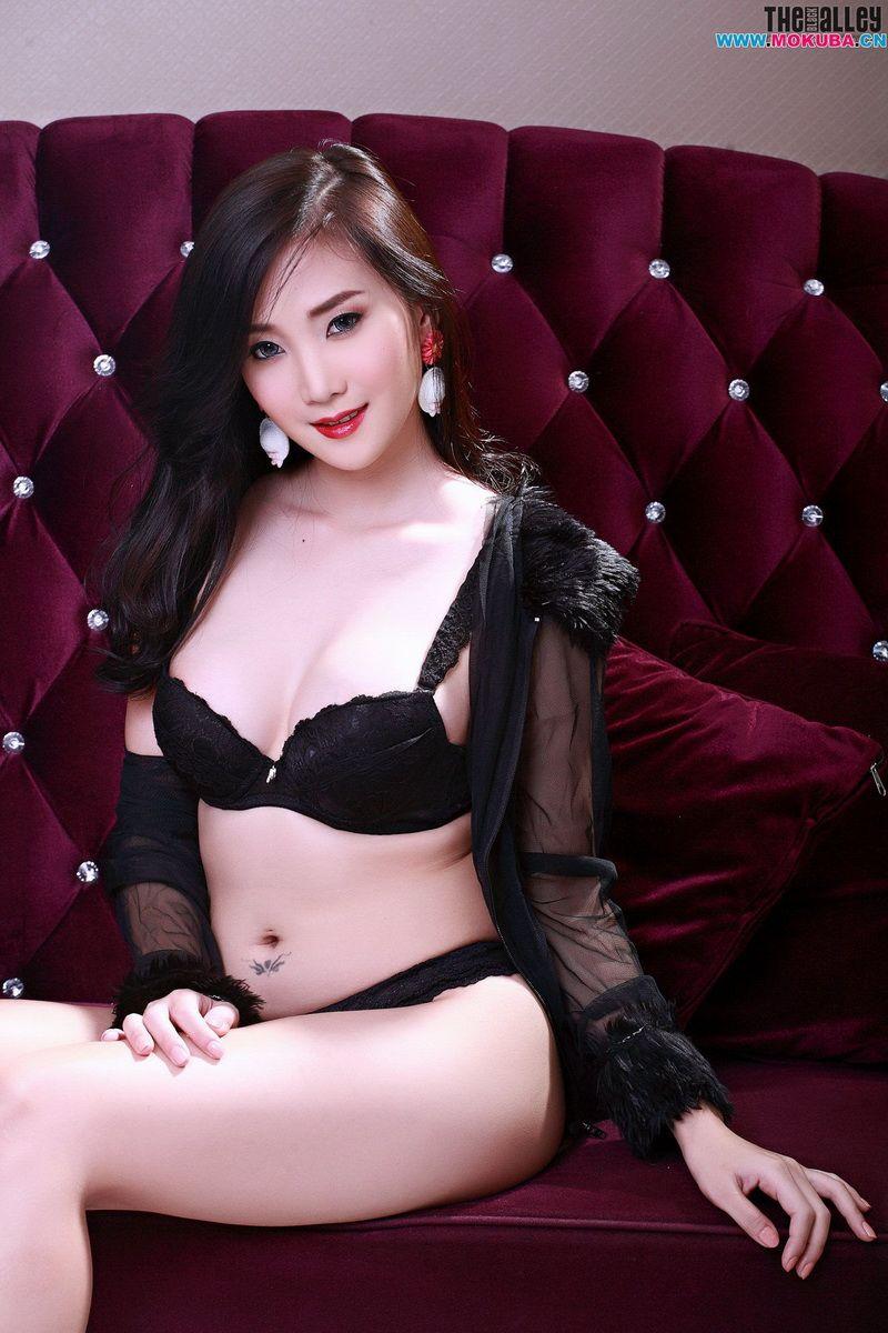 泰国美女张慧敏/LolitaCheng超高清透视蕾丝内衣诱惑套图