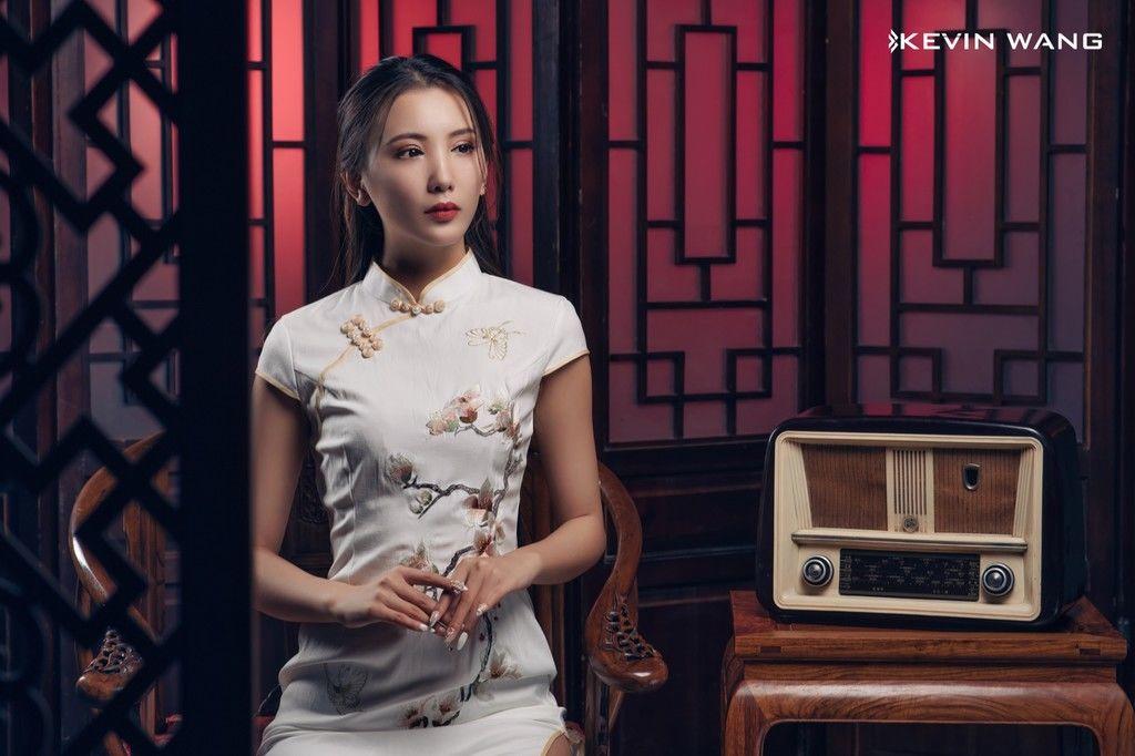 中式旗袍人像艺术摄影