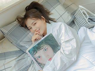 《被放在心尖上的女孩》私房美女写真摄影图片