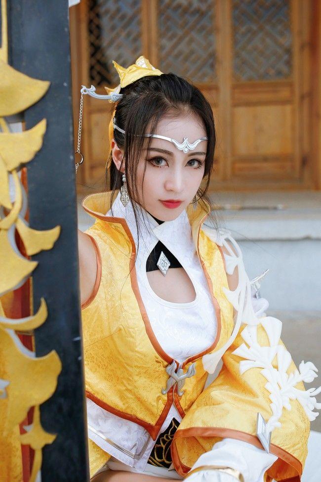 COSPLAY剑网3雪河二小姐《长干吴儿女眉目艳新月》