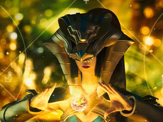 COS偶像季第1期:王者荣耀COSPLAY女娲尼罗河女神-汝之造物主
