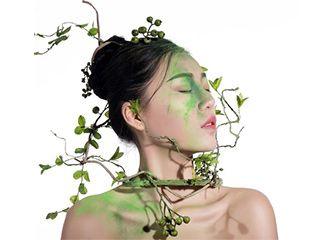 《春夏秋冬》创意人像面妆摄影