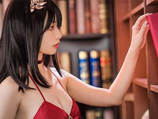 动漫美女雯妹COSPLAY碧蓝航线大凤礼服图集[43P]