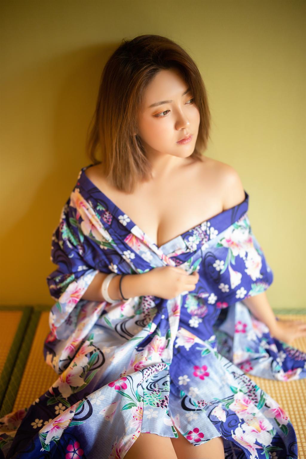 日系和服人像摄影作品欣赏