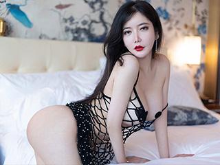 尤物女皇心妍公主黑色网衣极致诱惑[45P]