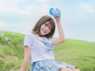 《天空是蔚蓝色》JK制服小姐姐真漂亮