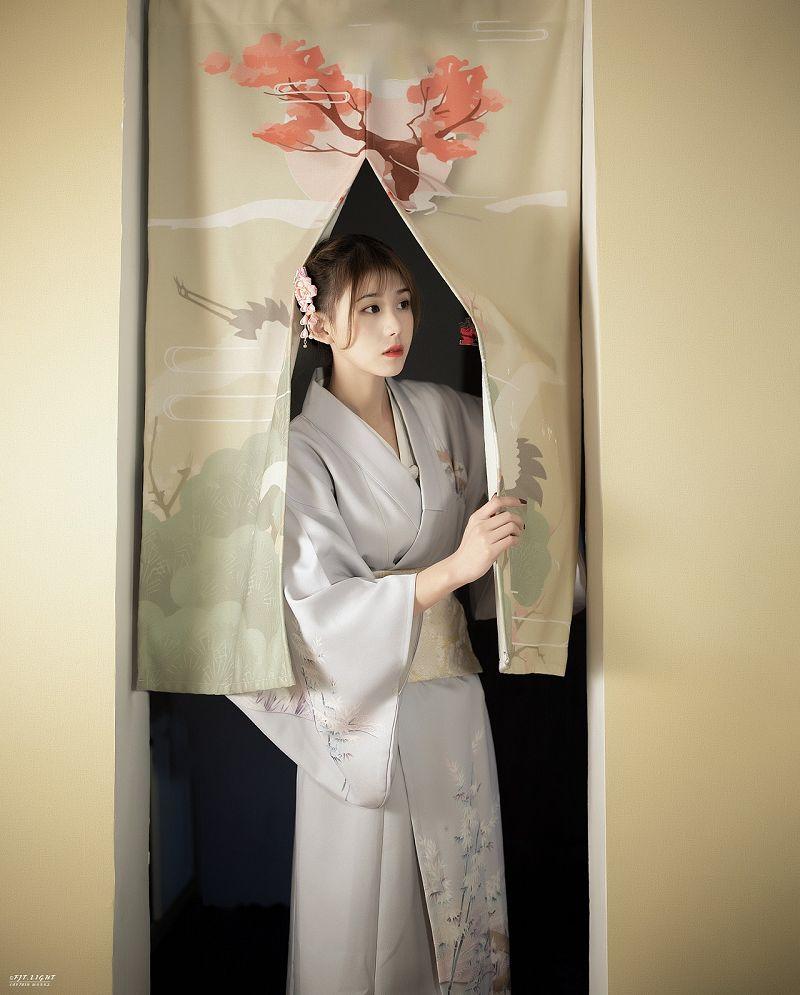 日系《离》私房人像写真
