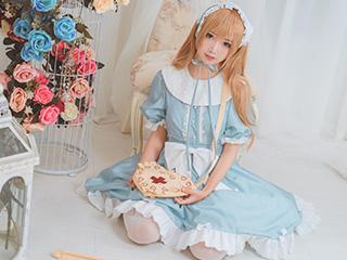 面饼仙儿COSPLAY血小板lolita写真套图[13P]