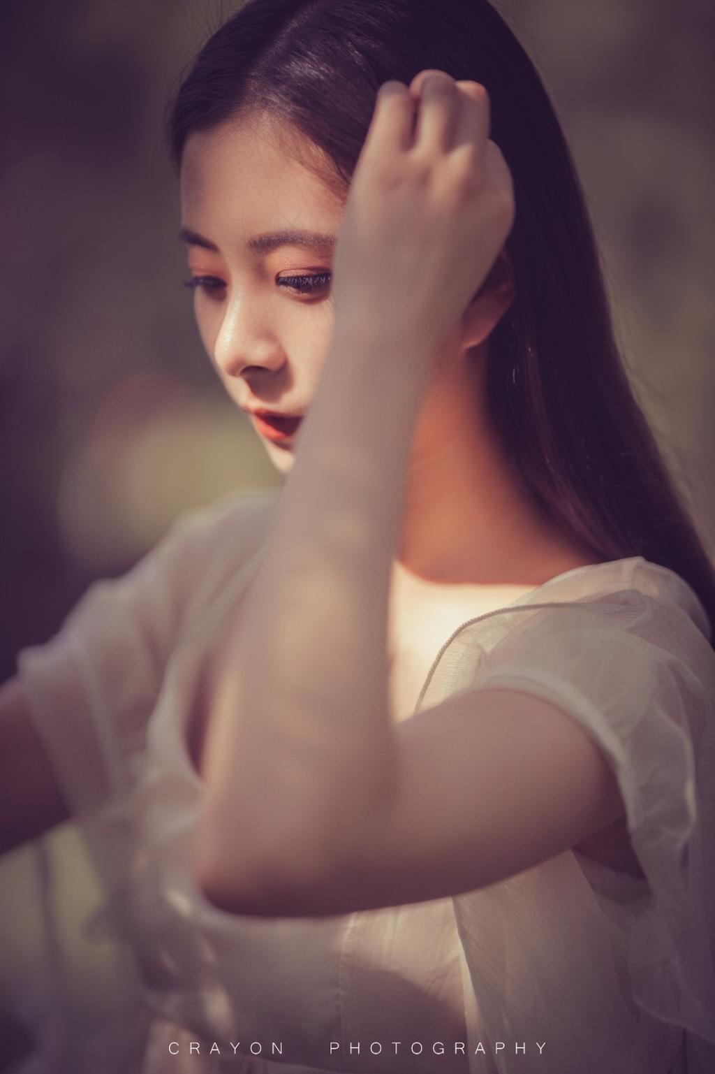 《暮光中的少女》外拍人像摄影作品