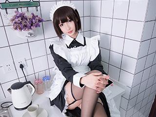 神楽板真冬COSPLAY愛のラビリンス女仆图片[137P]
