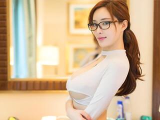 性感女秘书私房人像摄影网