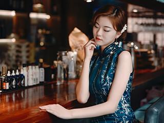《尘世浮华》旗袍美女人像摄影作品