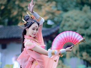 COSPLAY剑网3儒风七秀天阙沉沉夜未央