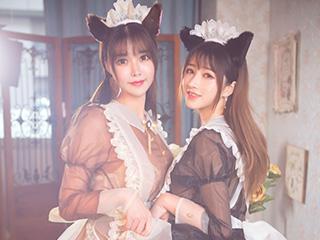 双人女仆小清新复古风摄影[9P]