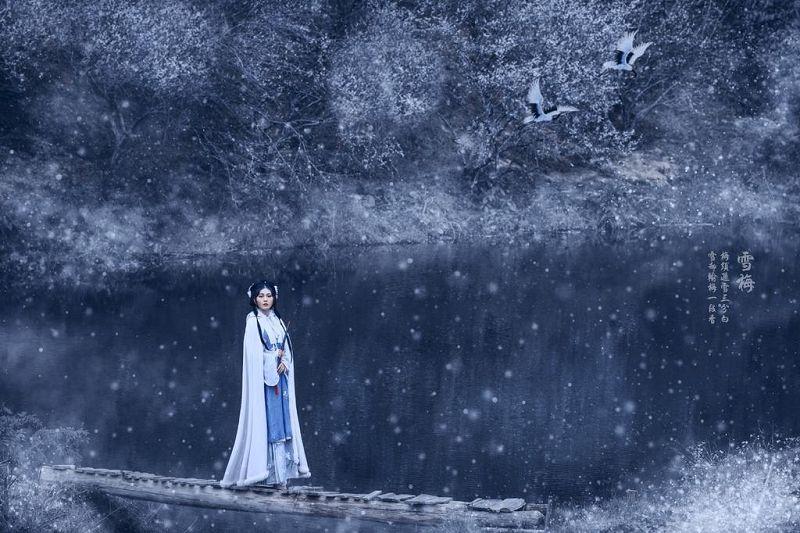古风系列《雪梅》摄影作品
